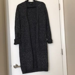 Forever 21 grey wool cardigan